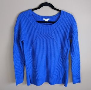🆕 Bar III | blue crew neck knit sweater